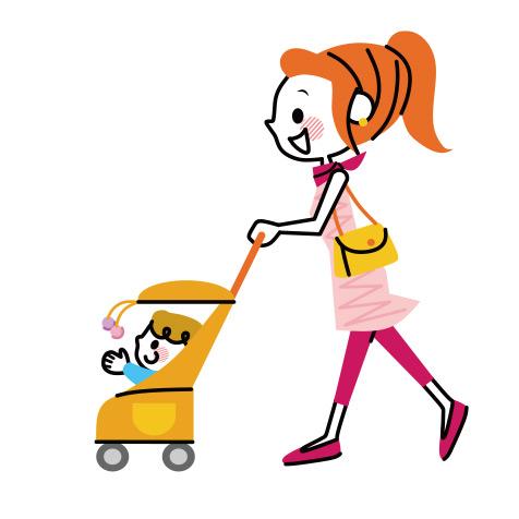 一人で子どもを連れて病院に行くのが大変。